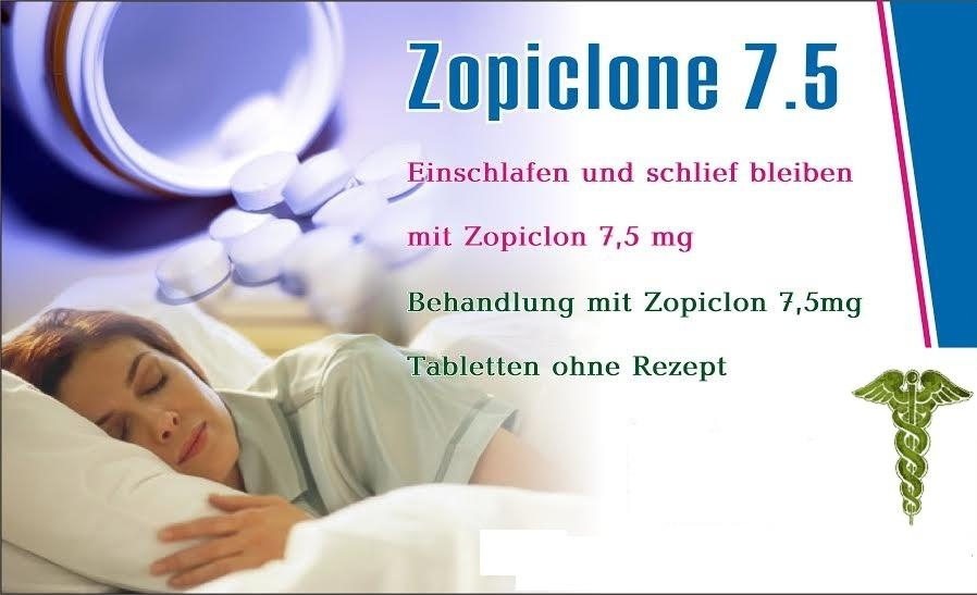 Kaufen Zopiclon Schlaftabletten rezeptfrei zuhause lieferung