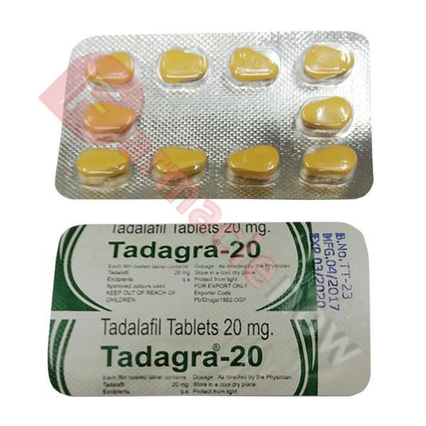 Tadagra (Tadalafil) 20mg