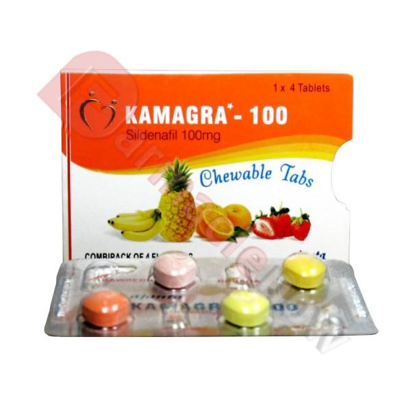 Kamagra Chewable (Sildénafil) 100mg