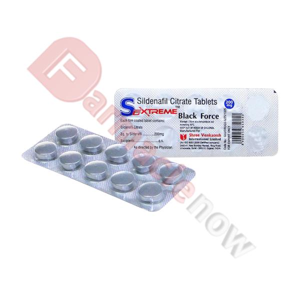 Sextreme Black Force (Sildenafil) 200mg
