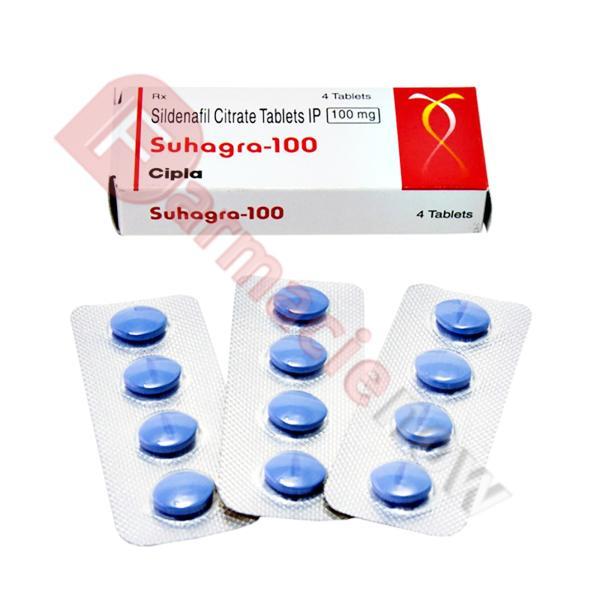 Suhagra (Sildenafil) 100mg