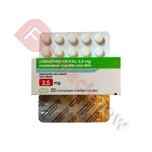 Lorazepam Hexal T 2.5mg