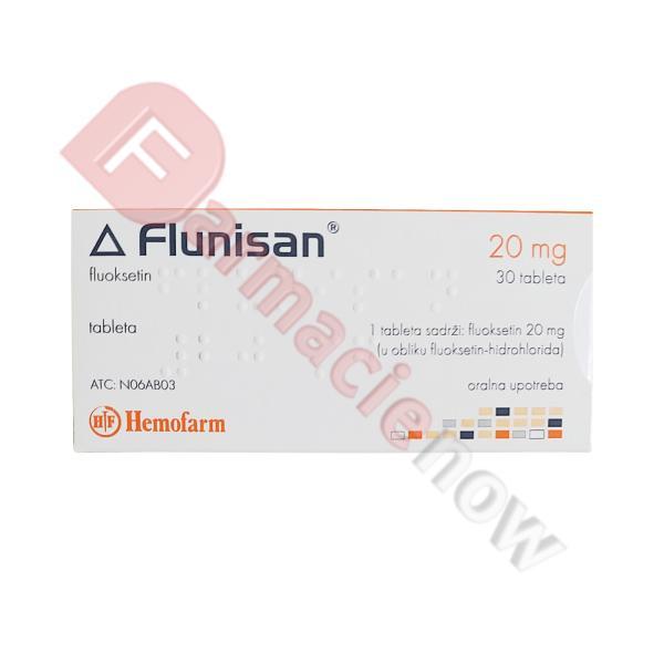 Flunisan (Fluoxetine) 20mg