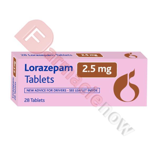 Lorazepam 2.5mg