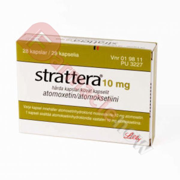 Strattera (Atomoxetine) 10mg
