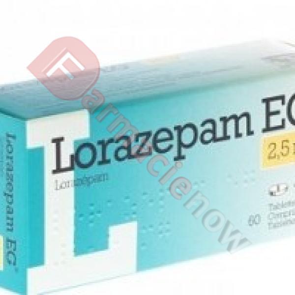 Lorazepam EG 2.5mg