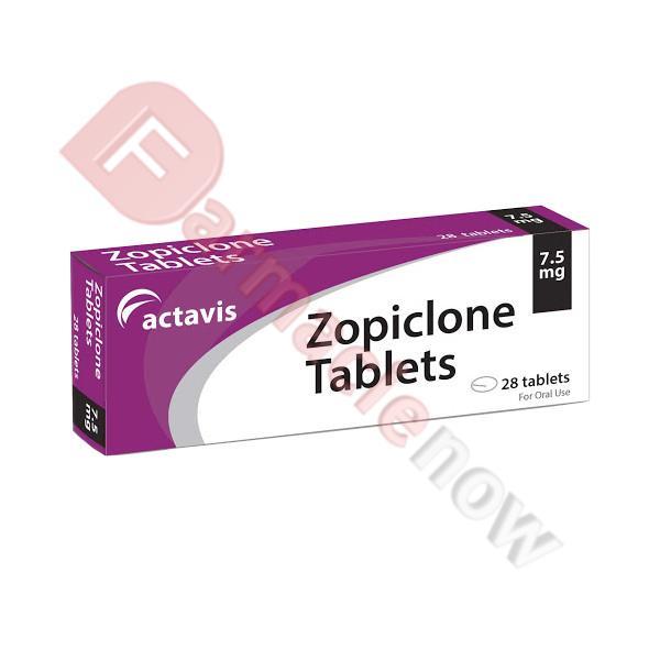 Zopiclone Actavis 7.5mg