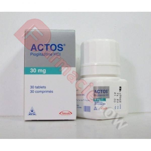 Generico Actos (pioglitazone) 30mg