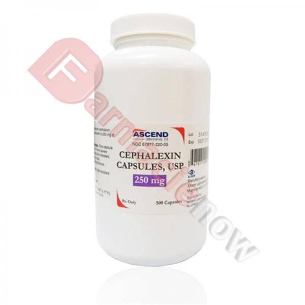 Generico Cephalexin (Keftab) 250mg