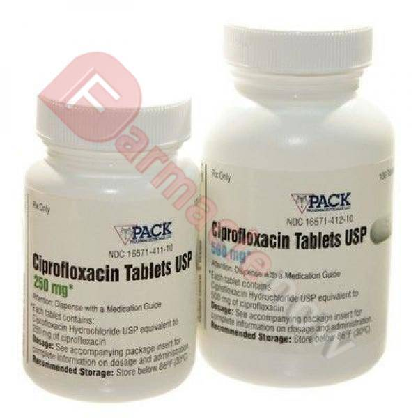 Generico Cipro (Ciprofloxacina) 500mg