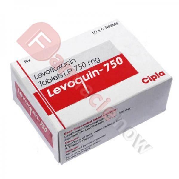 Generika Levaquin (Levofloxacin) 750mg