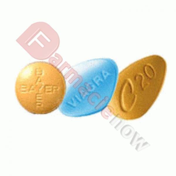 Varietät von Pillen Packung