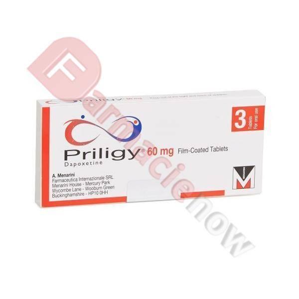 Priligy Generico (Dapoxetina) 60mg