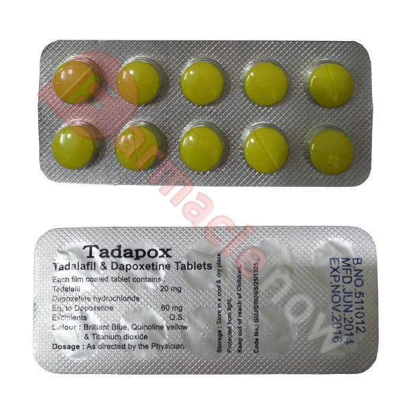 Тадапокс (Tадалафил + Дапоксетин)