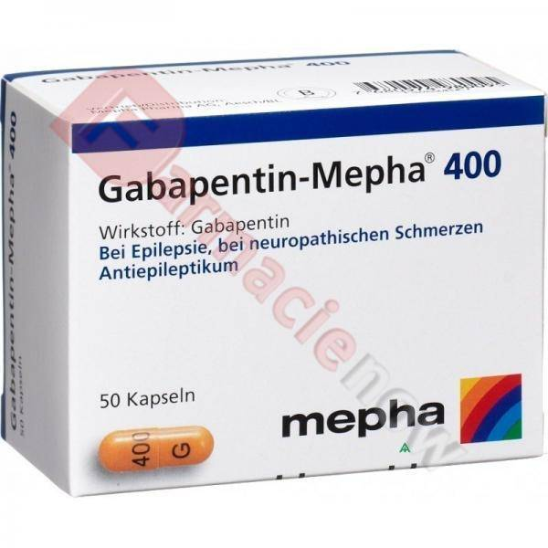 Generico Neurontin (Gabapentin) 400mg