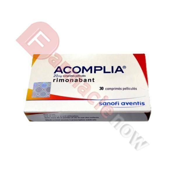 Generic Acomplia (Rimonabant) 20mg