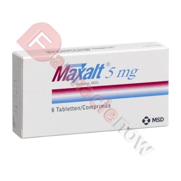 Maxalt Genérico (Rizatriptán) 5mg