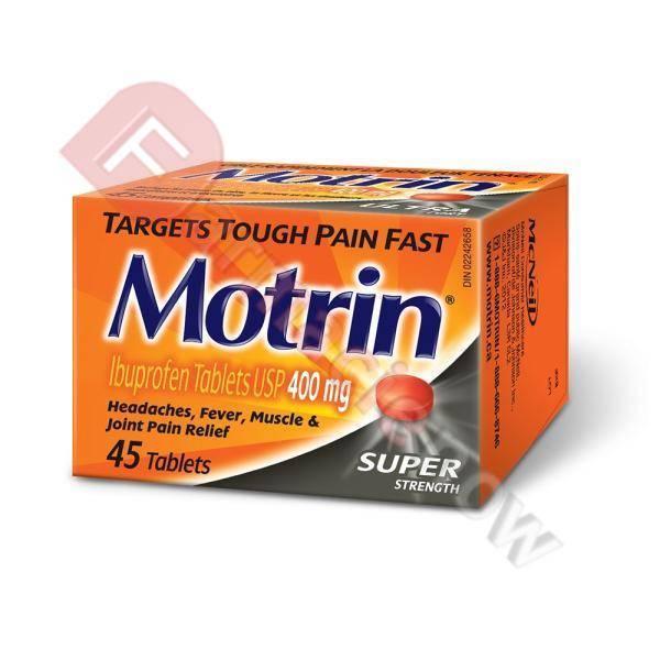 Motrin Generico (Ibuprofene) 400mg