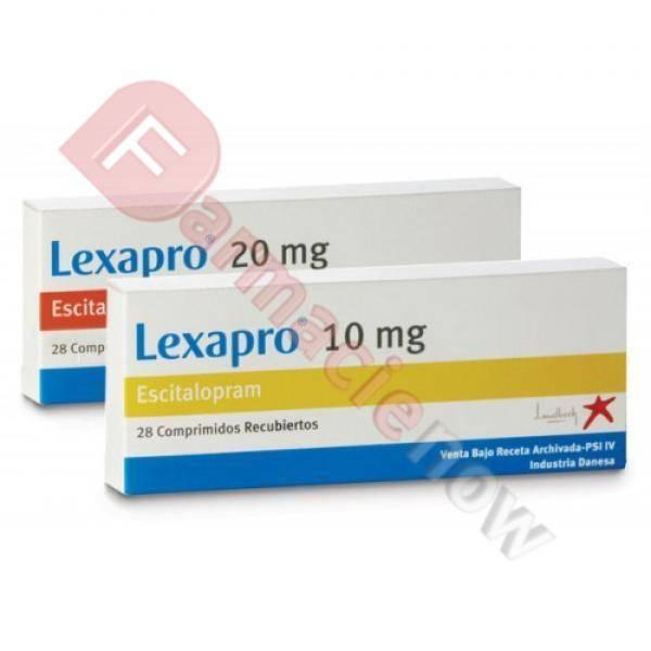Generika Lexapro (Escitalopram) 20mg