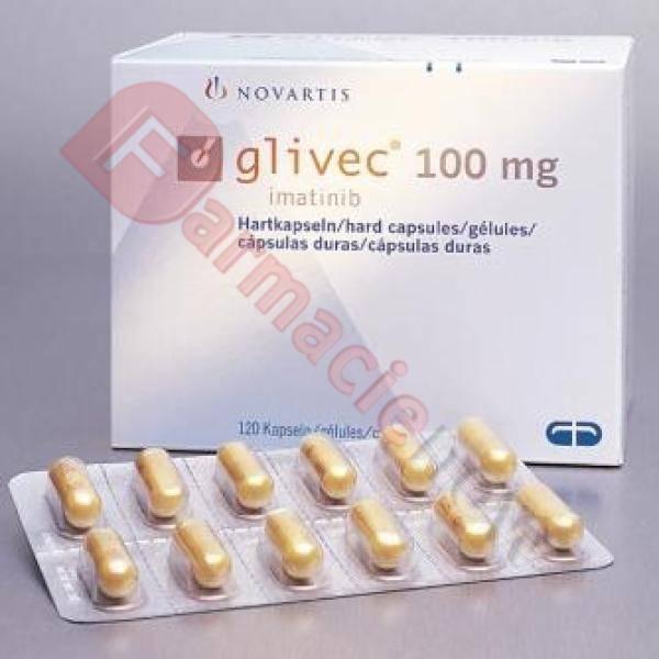 Glivec Genérico (Imatinib) 100mg