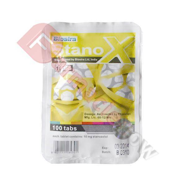Stanox Stanozololo 10 mg