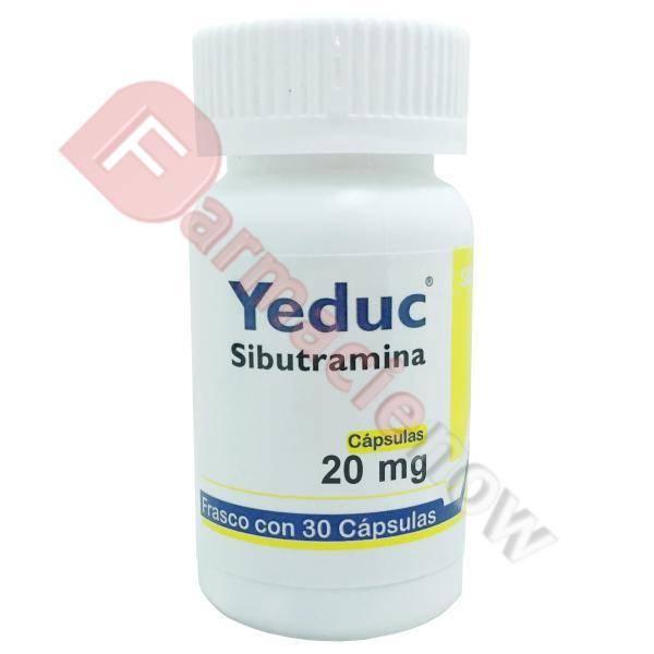 Reductil Genérico (Sibutramina) Yeduc 20mg
