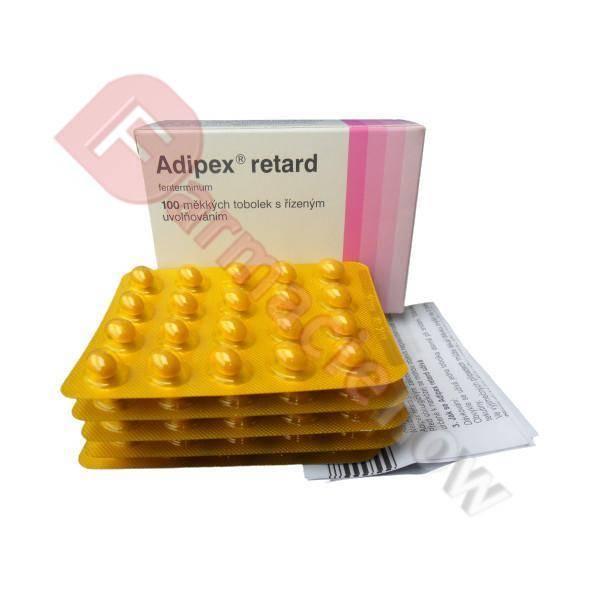 Adipex Retard (Phentermine) Brand 15mg