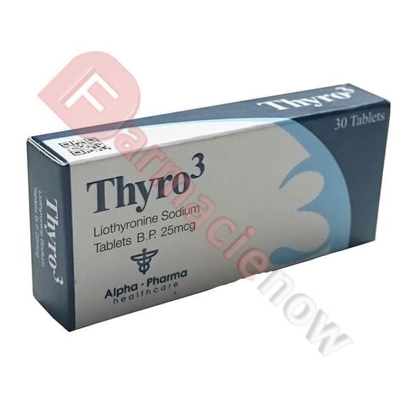 Thyro 3 Genérico Triiodothyronine 25mg