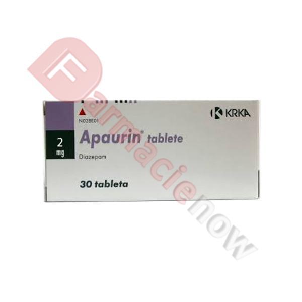 Apaurin (Diazepam) 2mg