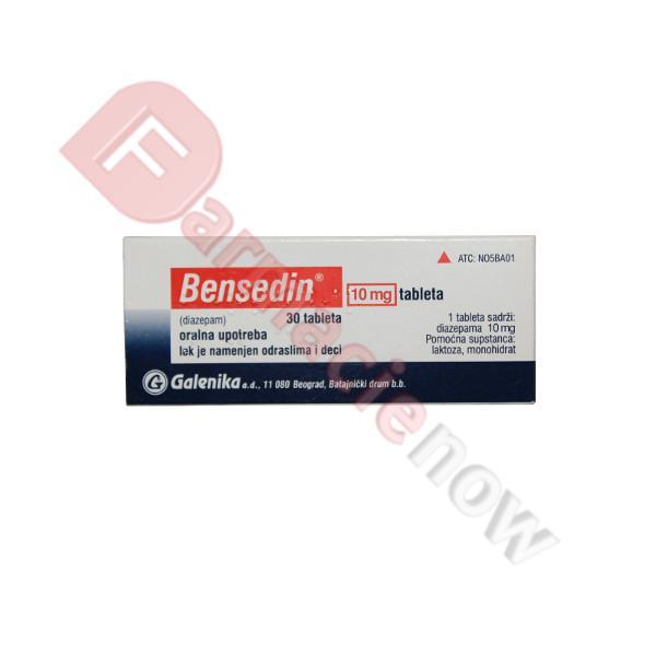 Bensedin (Diazepam) 10mg