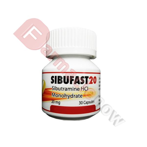 Reductil Genérico Sibufast 20mg