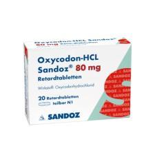 Oxycodone Sandoz 80mg
