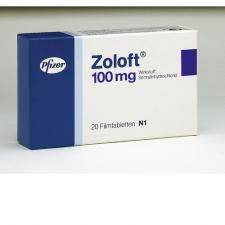 Zoloft (Sertraline) 100mg