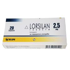 Lorazepam Brand Farmavita 2.5mg