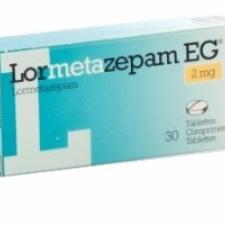 Лорметазепам 2 мг (Lormetazepam)