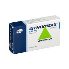 Zithromax (Азитромицин) 250 мг