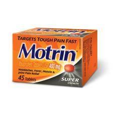 Generic Motrin (Ibuprofen) 400mg