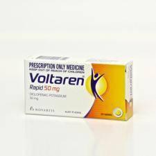 Generic Voltaren (Diclofenac) 50mg