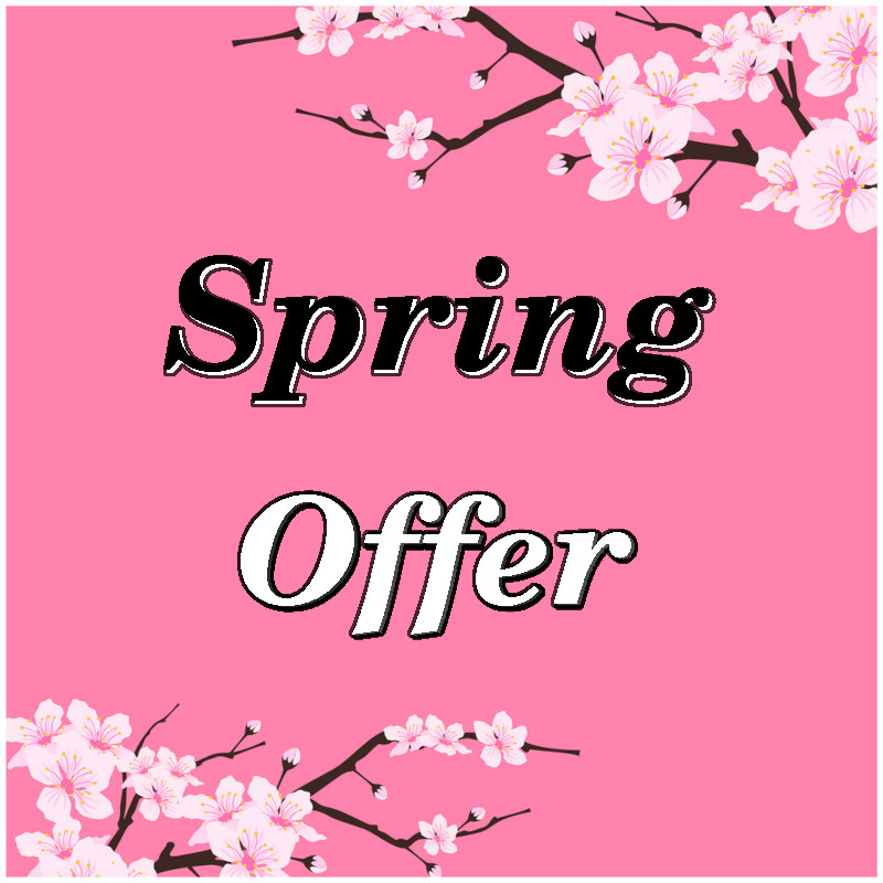 Spring Offer 2019
