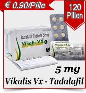 Vikalis VX Tadalafil 5 mg